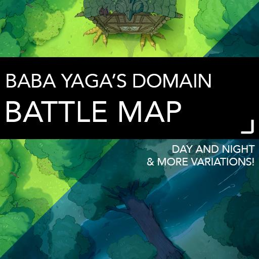 Baba Yaga's Domain Battle Maps