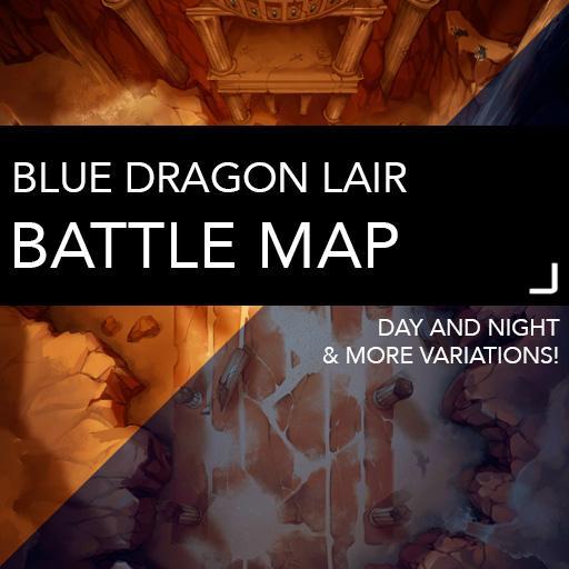 Blue Dragon Lair Battle Maps