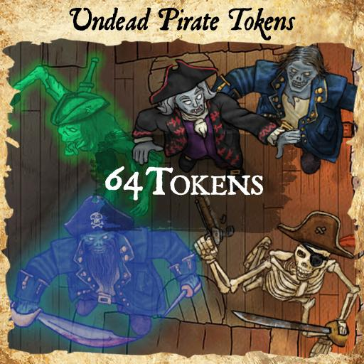 Undead Pirate Tokens