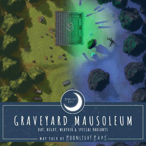 Graveyard Mausoleum