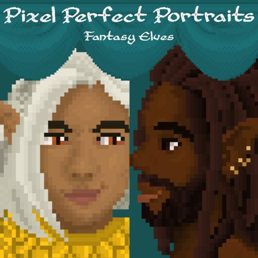 Pixel Perfect Portraits: Fantasy Elves
