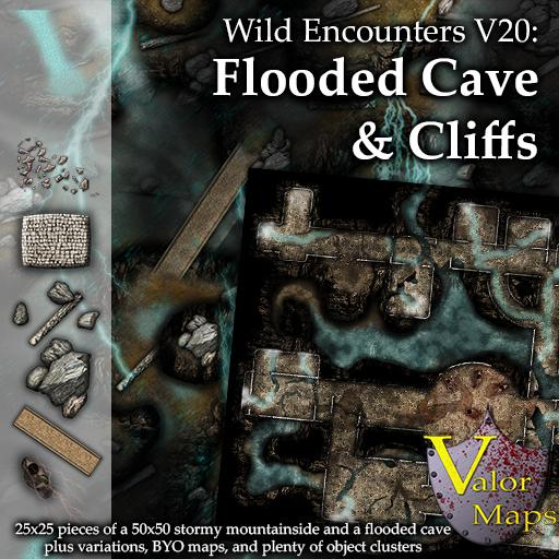 Wild Encounters V20: Flooded Cave & Cliffs