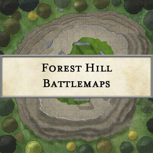 Forest HIll Battlemaps