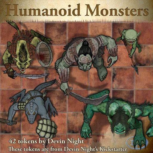 36 - Humanoid Monsters (KS)