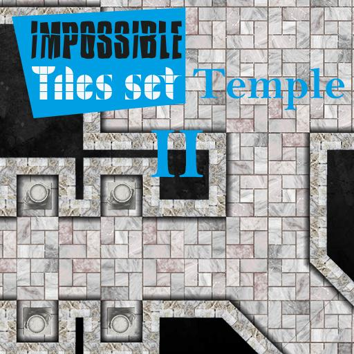 Impossible Tiles Set: Temple 2