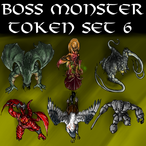 Boss Monster Token Set 6