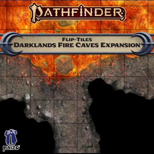 Pathfinder Flip-Tiles: Darklands Fire Caves Expansion