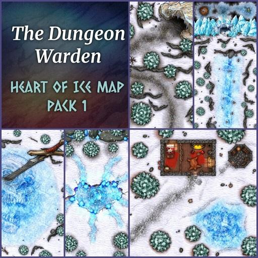 Heart of Ice Map Pack 1