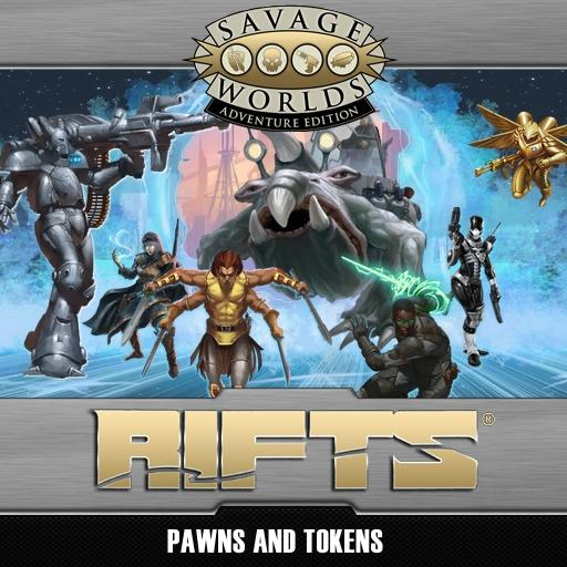 Rifts Pawns & Tokens