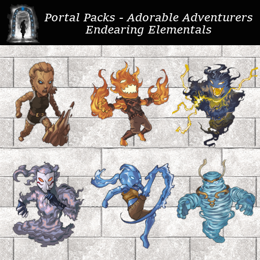 Portal Packs - Adorable Adventurers - Endearing Elementals