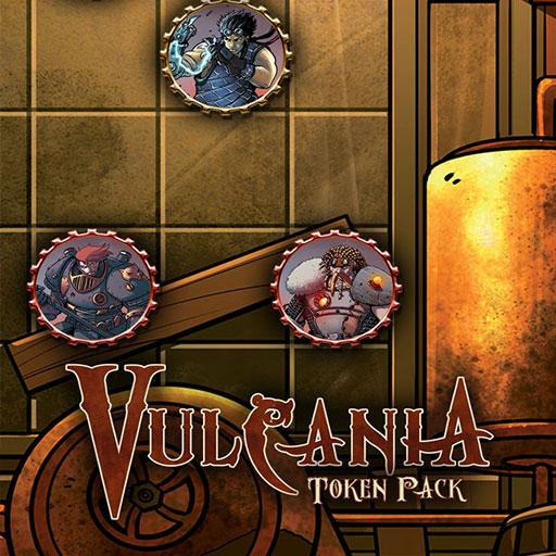Vulcania Tokens Pack