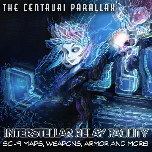 The Centauri Parallax: Interstellar Relay Facility