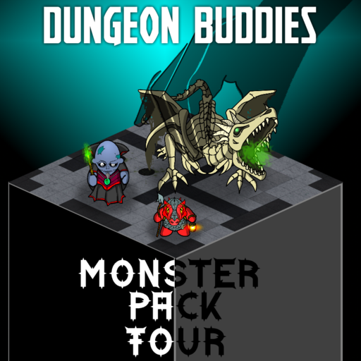 Dungeon Buddies Fantasy Tokens - Monster Pack 4