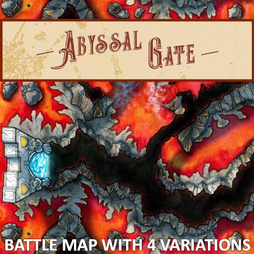 Abyssal Gate Battlemap