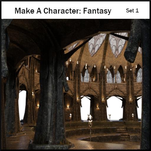 Make A Character: Fantasy Folk Set1