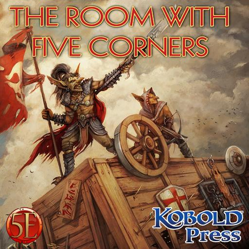 Prepared! The Room with Five Corners