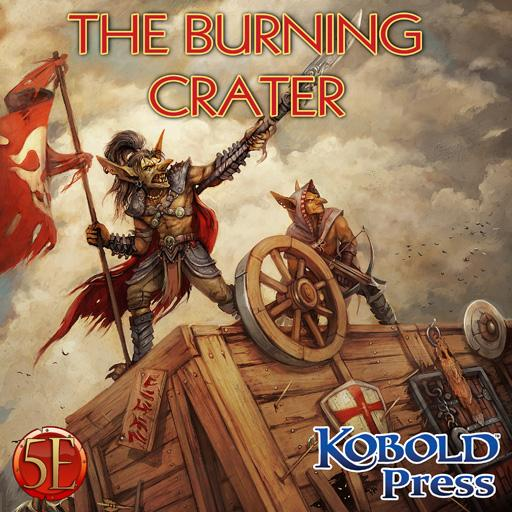 Prepared! The Burning Crater