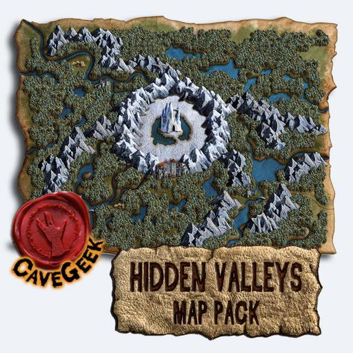 Hidden Valleys Map Pack