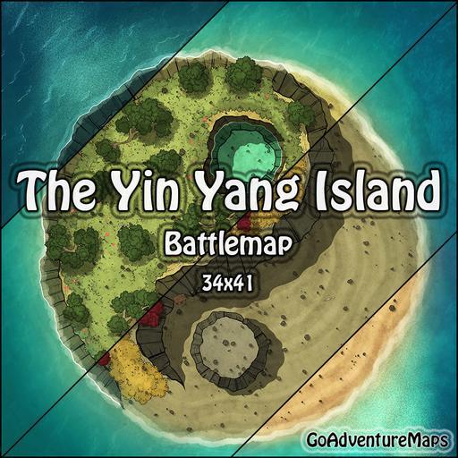 The Yin Yang Island
