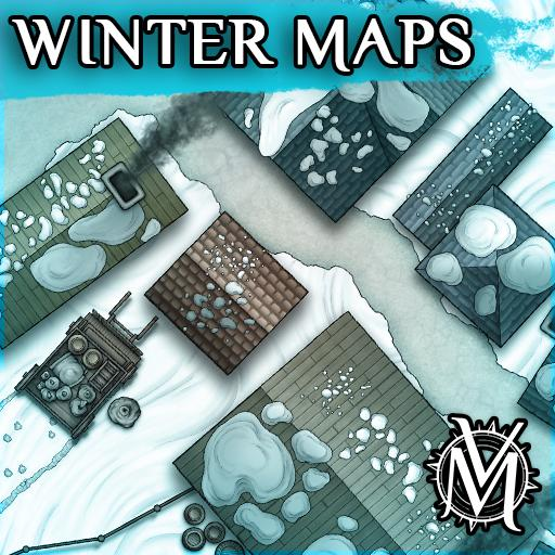 Winter Maps: Part One