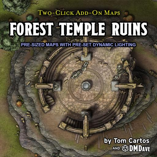 Forest Temple Ruins
