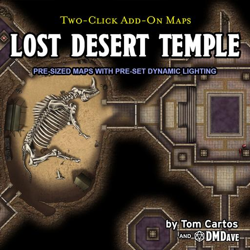 Lost Desert Temple
