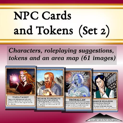 NPC Cards and Tokens (Set 2)