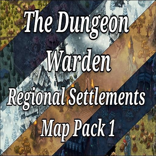Regional Settlements Map Pack 1