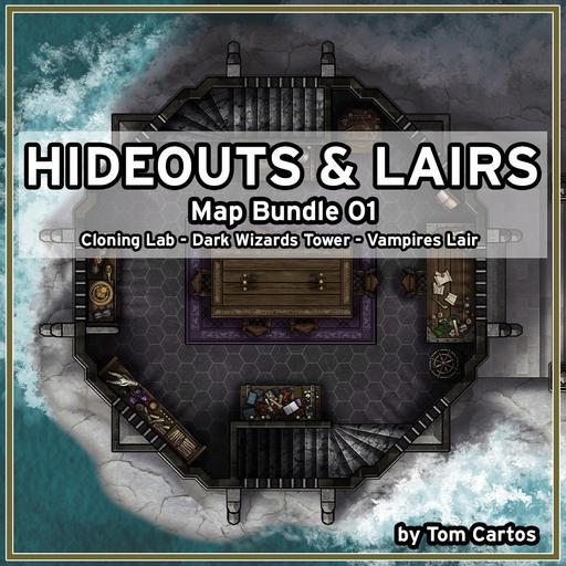 Hideouts & Lairs Map Bundle 01