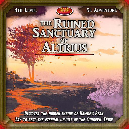 The Ruined Sanctuary of Altrius