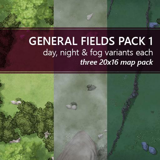 General Fields Battlemap Pack 1