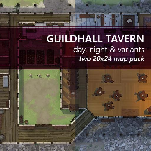 Guildhall Tavern Battlemaps