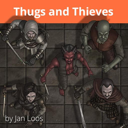 Jans Token Pack 23 - Thugs and Thieves