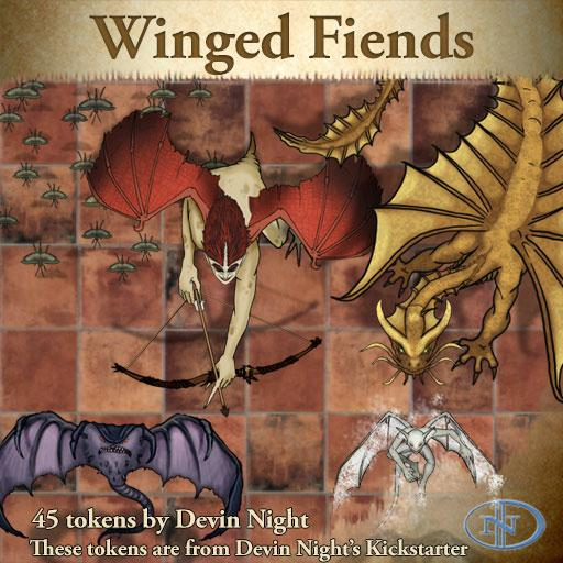 Devin Token Pack 39 - Winged Fiends (KS)