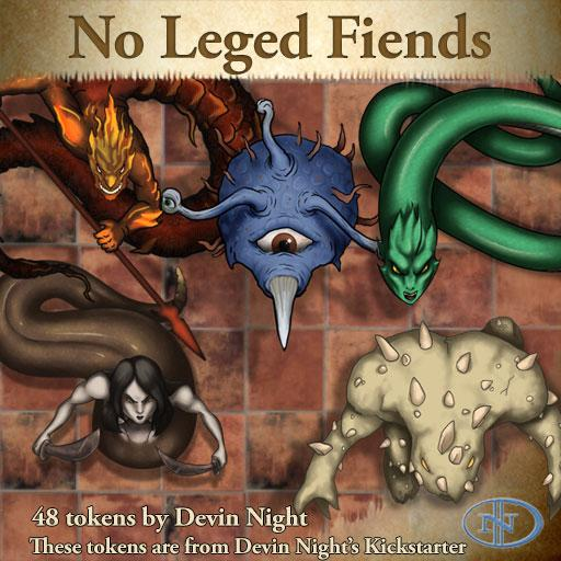 40 - No Legged Fiends (KS)