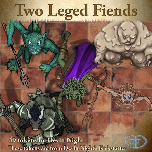 Devin Token Pack 41 - Two Legged Fiends (KS)