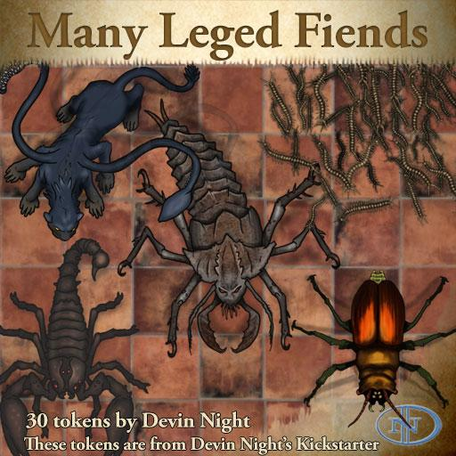 43 - Many Legged Fiends (KS)