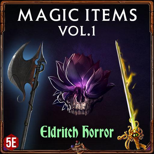 5e Magic Items Vol.1: Eldritch Horror
