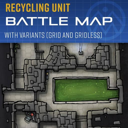 Recycling Unit - Battle Map