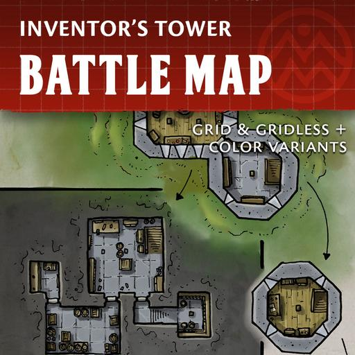 Inventor's Tower - Battle Map
