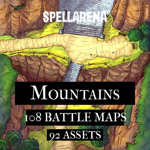 Mountains Maps and Assets Pack
