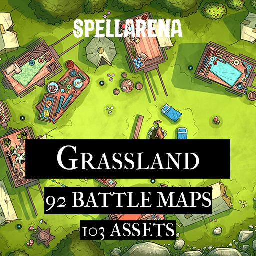 Grassland Maps and Assets Pack