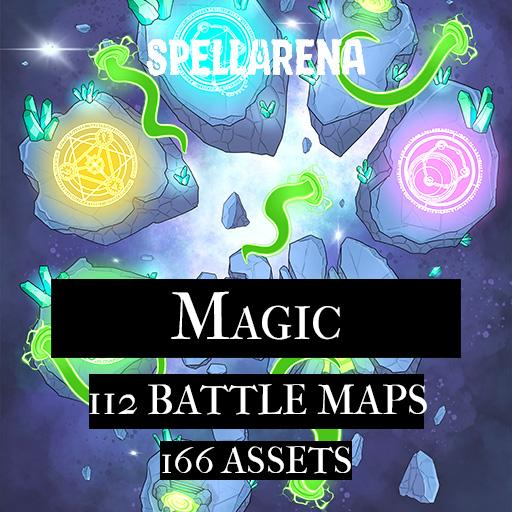 Magic Maps and Assets Pack
