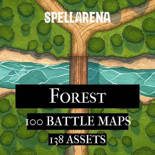 Forest Maps and Asset Pack
