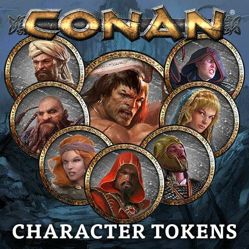 Conan: Character Tokens