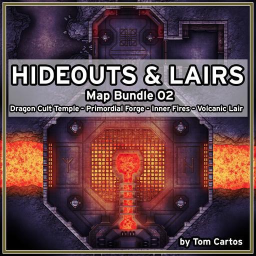 Hideouts & Lairs Map Bundle 02