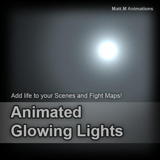 Animated Glowing Lights