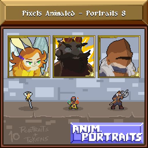 Pixels Animated - Portraits 8