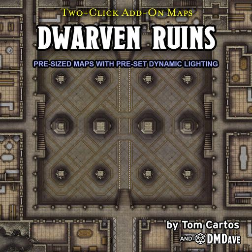 Dwarven Ruins, Map, Maze, and Puzzles