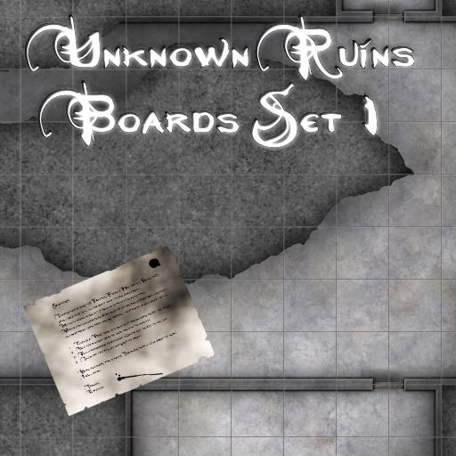 Unknown Ruins Boards Set 1